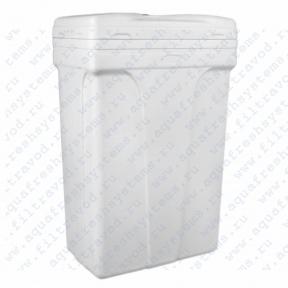 Бак для соли прямоугольный 140 л (582х362х904) в комплекте