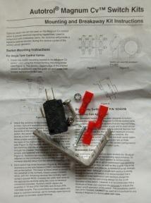 Микропереключатель одинарный, 5A,  Magnum (3019469)