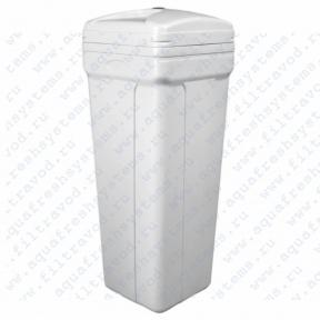Бак для соли квадратный 100 л (382*382*880) в комплекте
