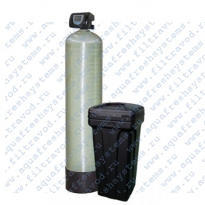Фильтр умягчитель 1054 с клапаном управления RUNXIN F-65/69-P3